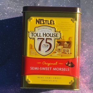 Nestle Toll House 75th Anniversary Tin Box